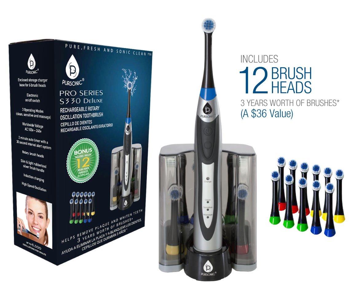 Amazon.com: PURSONIC S330 Deluxe - Cepillo de dientes ...