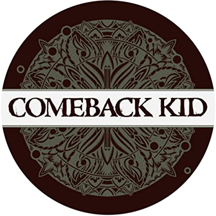 Comeback kid sticker