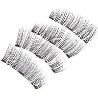 3D Triple Magnetic False Eyelashes Handmade Natural Extension Eye Lashes KS02