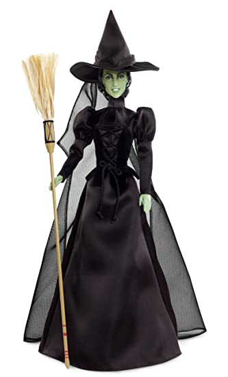 Amazon.com: Barbie Collector Wizard of Oz Wicked Witch of The West ...