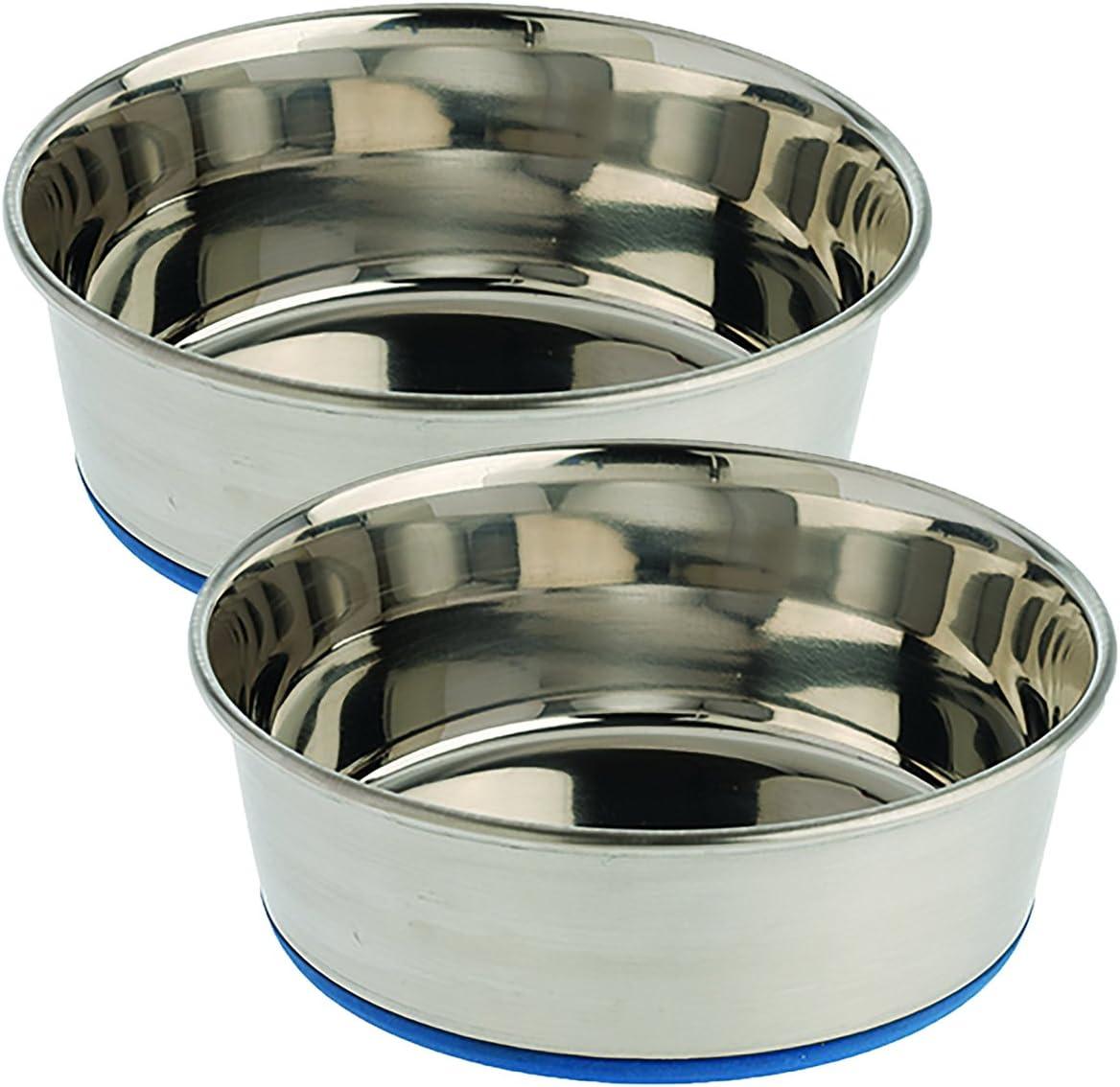 Our Pets Premium DuraPet Dog Bowl, 2QT, 2 Pack