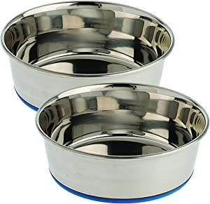 Our Pets Premium DuraPet Dog Bowl, 2QT, 2 Pack