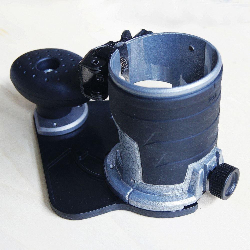 Recortadora SP10174807 con base con inclinacion agragada se ajusta a Katsu y Makita RT0700