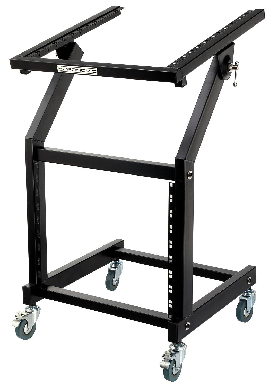 Pronomic MXS-600 Trolley de Rack 12+9HE avec Roullettes