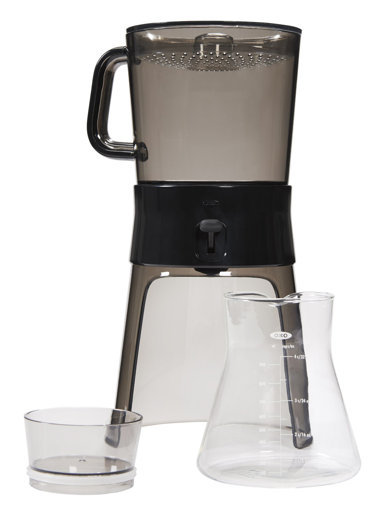 OXO Good Grips Cold Brew Coffee Maker (32 ounces) with 10 Paper Filters