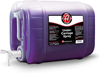 product image for Adam's SiO2 Infused Invisible Undercarriage Spray - Quick and Easy to Use - Turn Your Wheel Wells Invisible - Leaves a Black Satin Finish (5 Gallon)