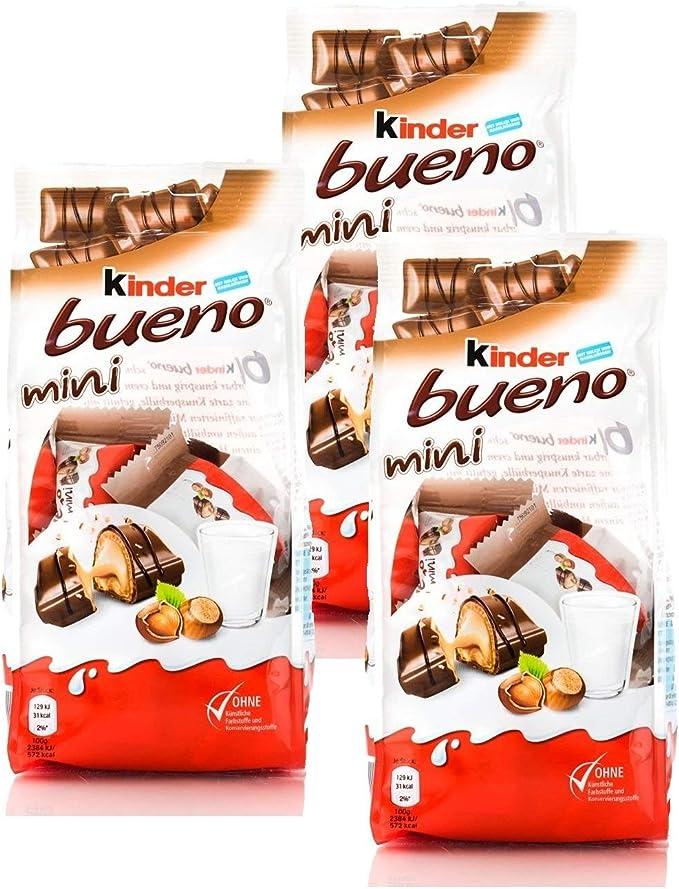 Kinder Bueno Mini, 108g/3.81oz, (Pack of 3): Amazon.es ...