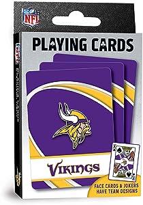 "MasterPieces NFL Minnesota Vikings Playing Cards,Purple,4"" X 0.75"" X 2.625"""