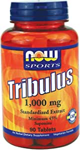 Now Food Sports Tribulus, 500mg, 100 Capsules