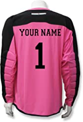7774c4148ab Code Four Athletics Diadora Enzo Goalkeeper Jersey Personalized with Your  Name and Number