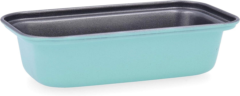 Quid Mint Molde rectangular, Acero carbonatado, Interior antiadherente, Cierre con seguridad, 15x8cm: Amazon.es: Hogar