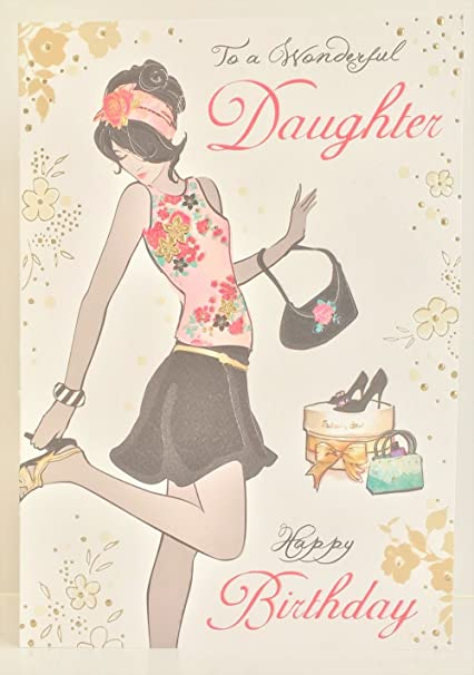 Jonny Javelin Daughter Happy Birthday Card