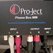 Amazon.com: Pro-Ject Audio – Phono Box mm – mm Phono ...