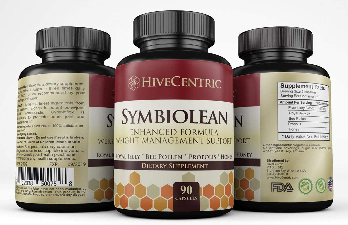 Symbiolean with Green Tea, Apple Cider Vinegar, Bee Pollen and More