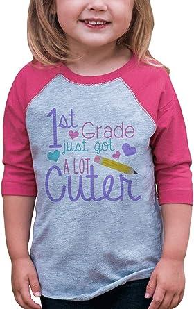 Custom Party Shop Girls 1st Grade Got Cuter School T-Shirt
