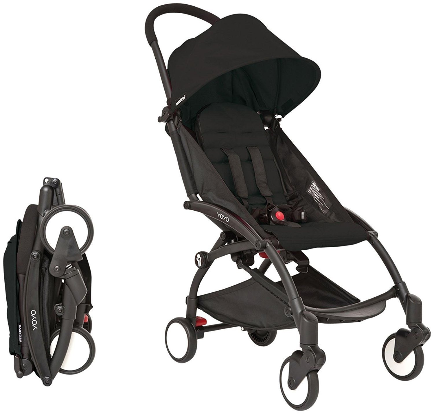 YOYA 2017 Stroller Color Black - Easy to fold - Extremely lightweight