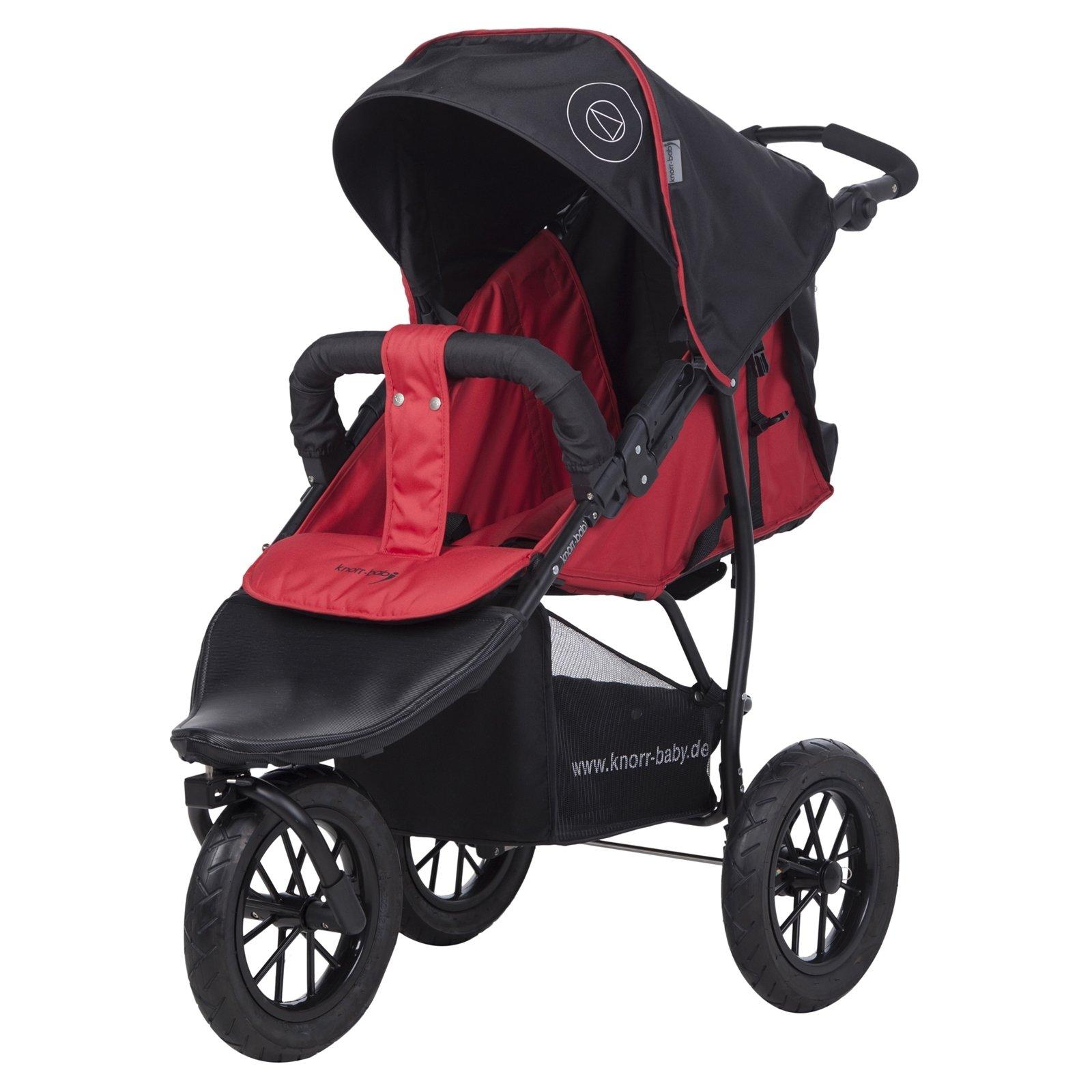 knorr-baby Joggy S Poussette trois roues «Happy Colour» avec capote pour dormir product image