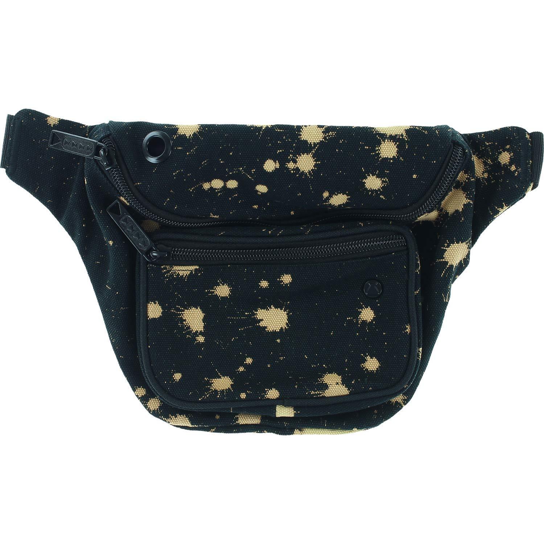 Hipsack Bag Bumbag Deluxe Jackson Black//Bleach Dye