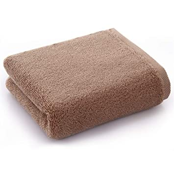 GXSCE Aumentar Toallas Suaves Gruesas y absorbentes, Toallas de Secado rápido, Toallas de baño Ligeras, Toallas de Playa compactas, Botes de Basura marrón: ...