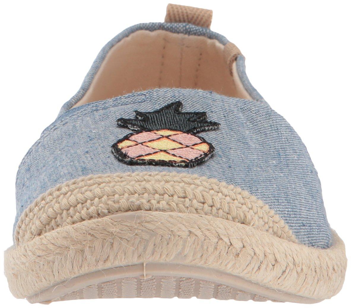 Roxy Women's Flora Slip on Shoe Sneaker B071X9VC5F 6 B(M) US|Chambray