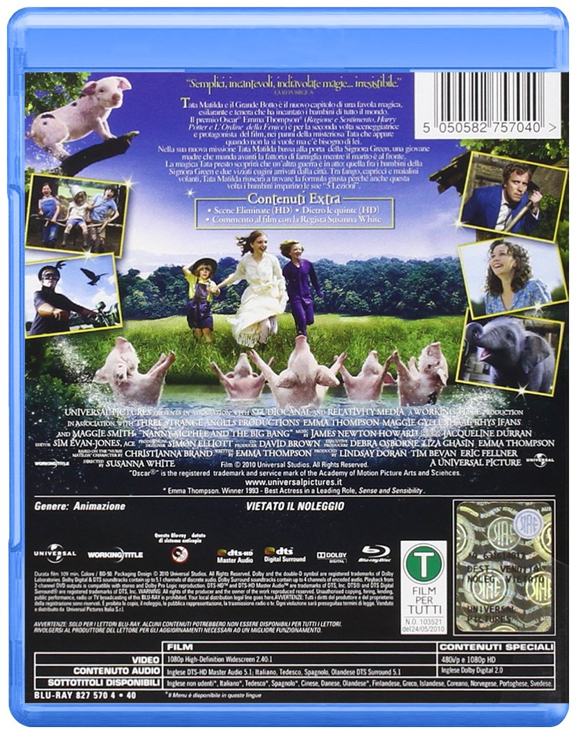 Amazon Com Tata Matilda E Il Grande Botto Daniel Mays Emma Thompson Susanna White Movies Tv