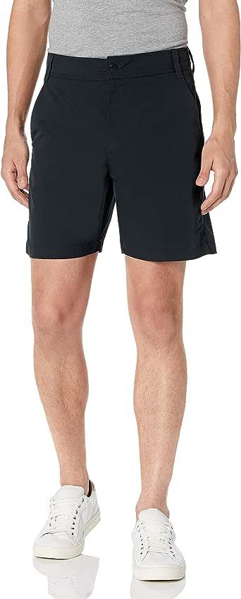 "Amazon Essentials Men's Standard Regular-Fit Hybrid Tech 7"" Short"