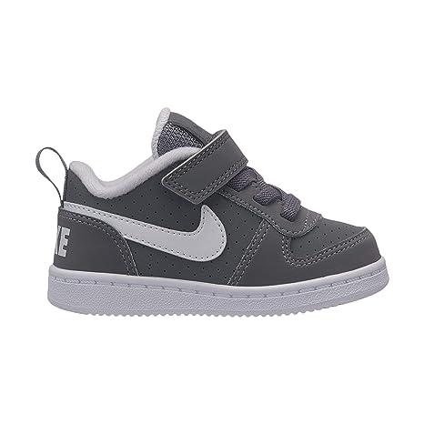 Nike Court Borough Low (TDV), Zapatillas de Estar por casa Bebé Unisex,