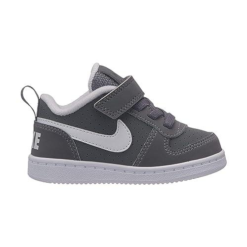 premium selection cdbfe f372b Nike Court Borough Low (TDV) Chaussons Mixte bébé, Gris (Cool Grey
