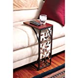 Etna Sofa Side Table (Black)
