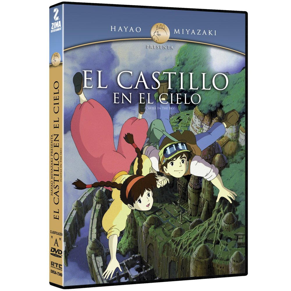 El Castillo en el Cielo (Castle in the Sky) by Hayao Miyazaki (Spanish subtitles)