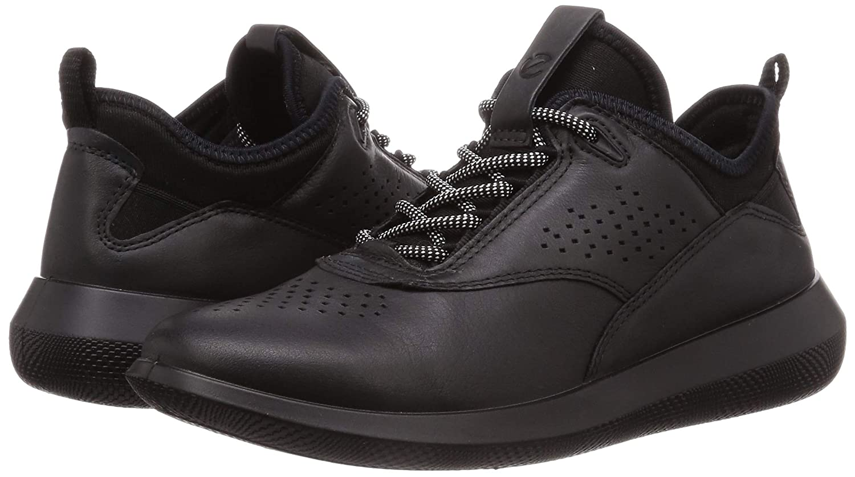 ECCO 450503, Baskets Femme, Noir Black 5