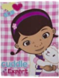 Character World Disney Doc McStuffins Patch Fleece Blanket, Multi-Color