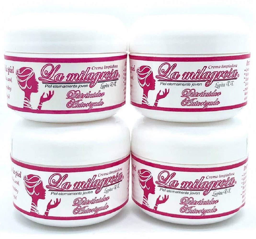 4 Pack Crema La Milagrosa Day Cream Original 100% Authentic
