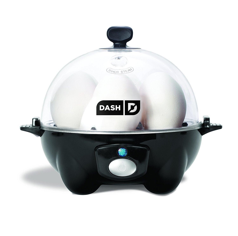 2 x Dash Go Rapid Egg Cooker, Black