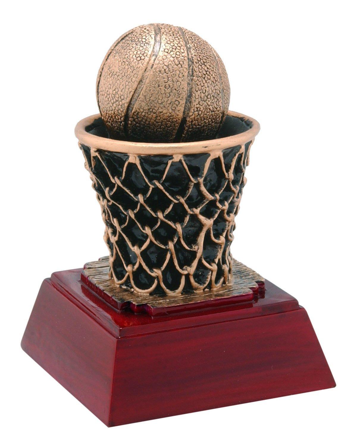 バスケットボールSculptured Trophy – カスタマイズNow – Personalized Engraved Plate Included & Attached to award – PerfectバスケットボールAward Trophy B074CPDRXS