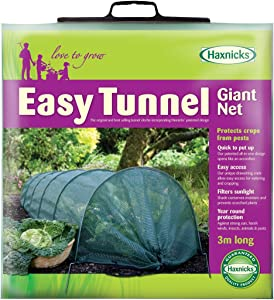 Tierra Garden 50-5020 Haxnicks Easy Shade Net Tunnel Garden Cloche, Giant