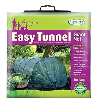 Exceptional Tierra Garden 50 5020 Haxnicks Easy Shade Net Tunnel Garden Cloche, Giant