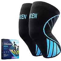 2 stuks sportkniebraces voor mannen en vrouwen, meniscus artrose tegen kniepijn, compressie, kniebeschermers, antislip…