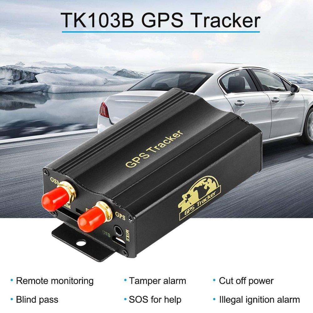 KKmoon Seguimiento de Vehiculos,GPS SMS GPRS Tracker Coche,Localizador en Tiempo,Localizador Gps Coche Tracker,Rastreador Localizador Gps | ...