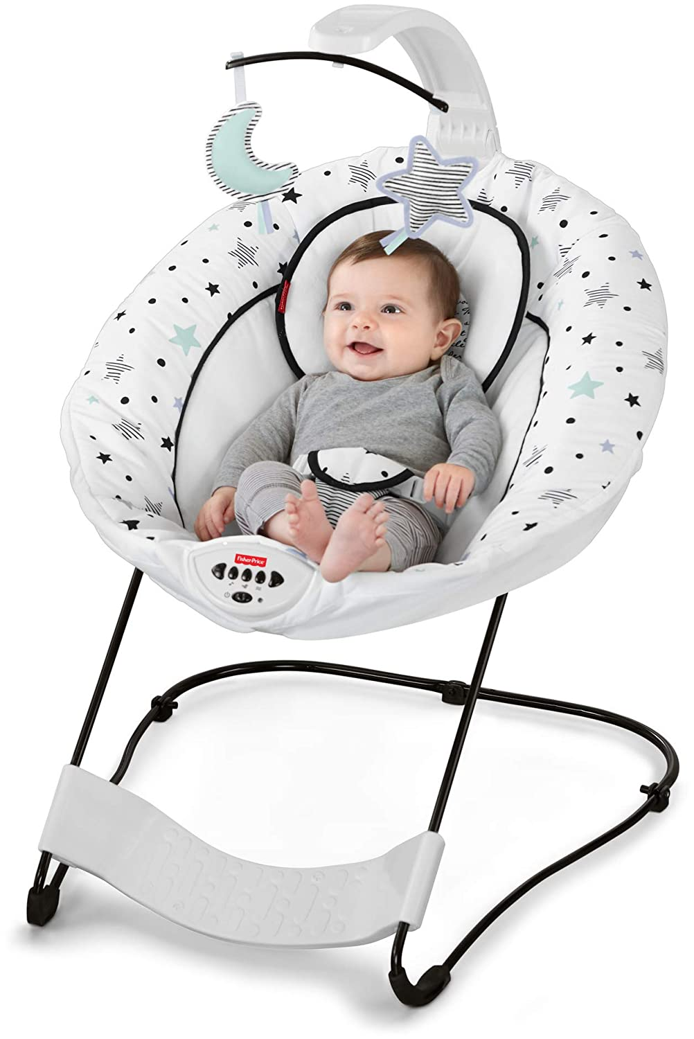 Fisher-Price Deluxe Bouncer See Soothe, Starry Night