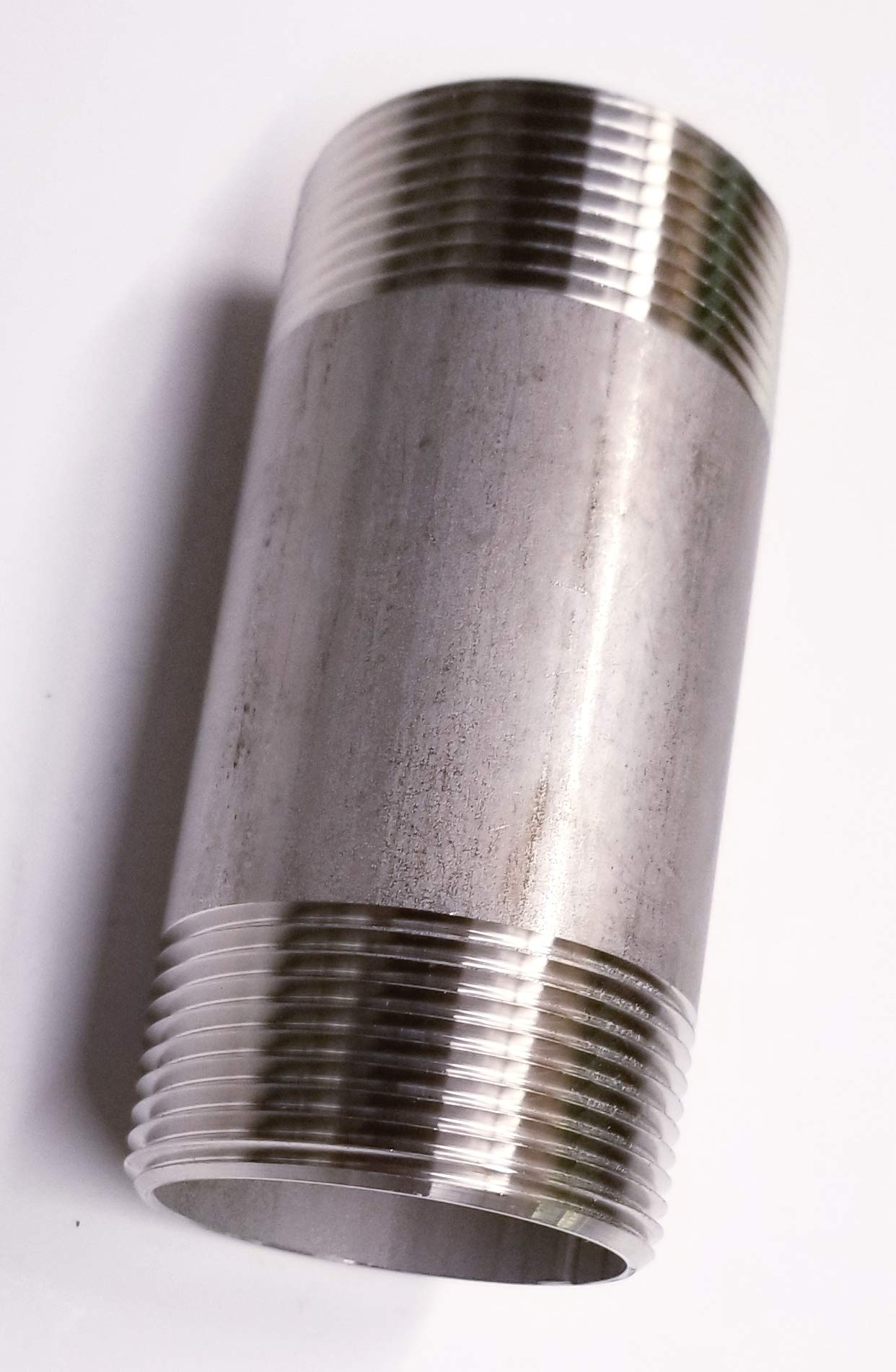 TIB Stainless Steel Pipe Nipple 1'' Npt x 18'' Long SCH 40 Pipe Male Thread Fast Shipping