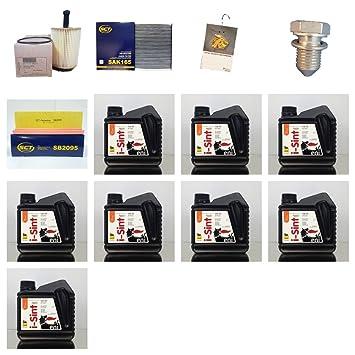 Filtro del paquete 8L Agip/eni I de sint Tech 0 W de 30 eni y 3 filtros: Amazon.es: Coche y moto