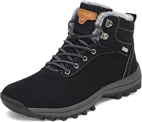 Women's Walking Shoes With Fur High Top Casual Outdoor Snow