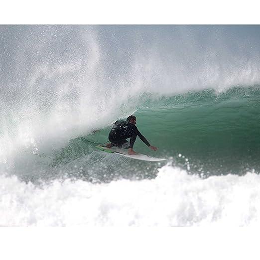 Circle One 6 pies 6 pulgadas cuchilla tabla de surf - Cola de pez de surf corta - acabado mate, verde: Amazon.es: Deportes y aire libre