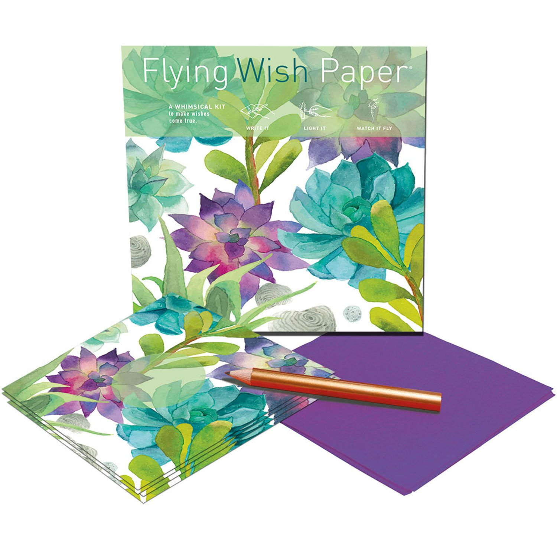 Flying Wish Paper Dandelion Prayers Small