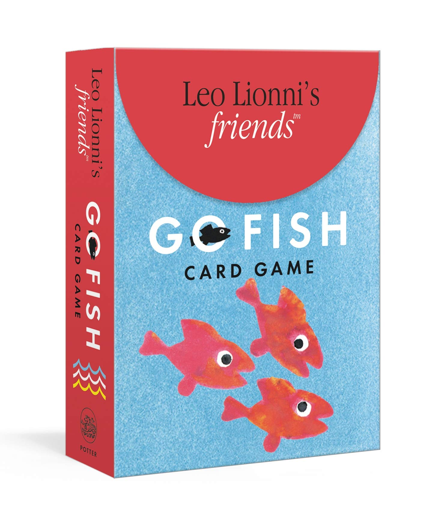 Leo Lionni S Friends Go Fish Card Game Includes Rules For Two