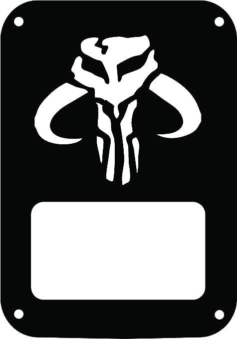Amazon Jeeptails Mandalorian Symbol Jeep Jk Wrangler Tail