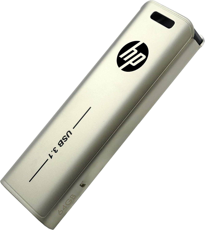 HP USB 3.1 64GB USB Flash Drive X796