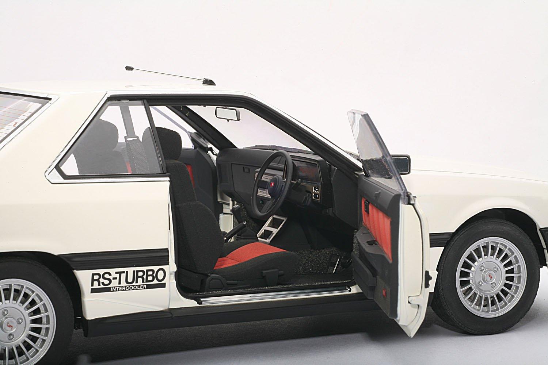 Amazon.com: Nissan Skyline 2000 Turbo Intercooler RS-X (DR30) White 1/18 Autoart: Toys & Games