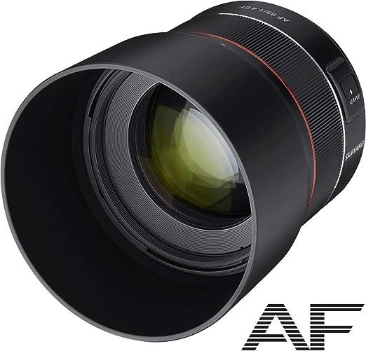 Samyang Af 85mm F1 4 Ef 85mm Festbrennweite Autofokus Kamera